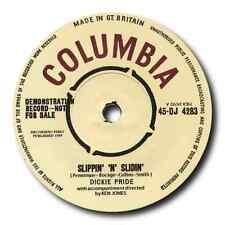 "DICKIE PRIDE - ""Slippin N Slidin"" B/W ""Fabulous Cure"" TOP BRITISH ROCK N ROLL"
