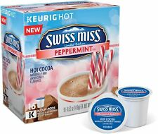 Swiss Miss Peppermint Chocolate Hot Cocoa Keurig K-Cups 16 Count