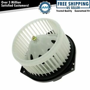 Heater A/C Front Blower Motor w/ Fan Cage NEW for Nissan Infiniti