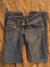 C'est Toi Womens Juniors Lowrise Jeans Denim Medium Blue Size 3, 030718