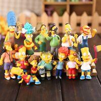 14pcs/Set Simpsons Action Figures Toys PVC 6-12CM Collectors Decoration Gift