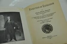 Emerson Evolution of Expression 1926 Antique Book