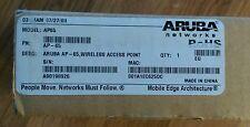ARUBA AP-65 Wireless Access Point NEW in original box