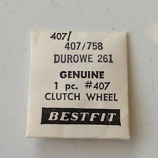 Durowe 261 Watch Clutch Wheel 407/758 Bestfit