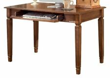 Ashley Furniture H527-10 Hamlyn Home, Office, Small Leg Desk In Medium Brown New