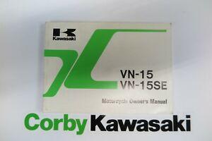 KAWASAKI VN-15 VN1500 A OWNERS MANUAL