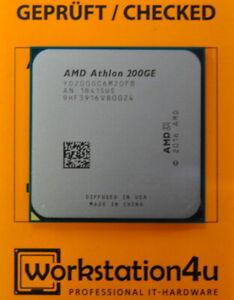 AMD Athlon 200GE - 3.2 GHz 3200 MHz AM4 ZEN Raven Ridge CPU Processor / NEW Tray