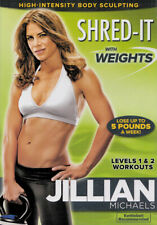 JILLIAN MICHAELS : SHRED-IT WITH WEIGHTS (DVD)