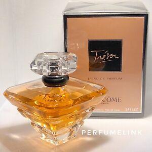 LANCOME TRESOR 100ml Eau De Parfum Spray Women's Perfume…Sealed Box+ Genuine