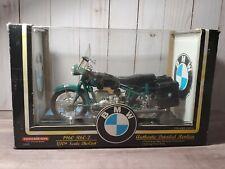 Tootsietoy 1960 BMW R60-2 Green 1:10 Scale Diecast Motorcycle 60's Bike 1997