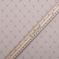 Medium Weight Woven Diamond Pattern Beige Chenille Curtain Upholstery Fabric