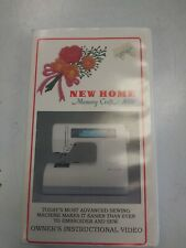 Home Memory Craft 8000 Sewing Machine (VHS,1991) Instructional Video Tested