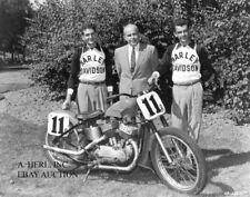 Harley Davidson K model Daytona 1957 winner Joe Leonard William Davidson photo