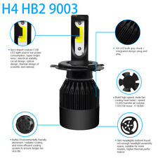 COB H4 C6 10800LM 72W LED Car Headlight High/Low Turbo Light Car Bulb 6000K RS1
