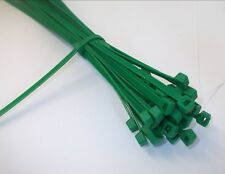 Jardin Vert Ou Marron Câble Liens 10.2cm Pour 35.6cm Rangé Plante Entraînement