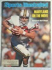 Maryland On the Move Vintage Sports Illustrated Oct. 4th 1976 - UMD Mark Manges