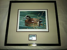 Ralph McDonald  Ltd Ed #2054/4500   1996 Ducks Unlimited Annual Stamp Print
