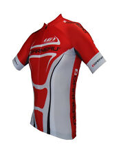 new Louis Garneau Mondo race fit men's cycling jersey UPF 50 racing next to skin