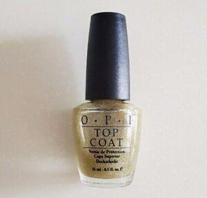 OPI Yule Love This Silver! Topcoat SR L12 (Black Label)