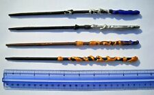 Harry Potter Wands Lot (4) Handmade - Assorted Colors