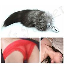 New Funny Love Faux Fox Tail Butt Anal Plug Sexy Romance Sex Tool
