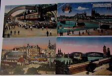 A011 - ELBERFELD Schwebebahn am Doppersberg KOLN COELN German Transport Postcard