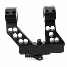 Side Rail Scope Mount A-K with Integral 1 Inch/30mm Ring QD Locking System
