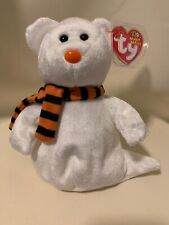 QUIVERS HALLOWEEN Decoration GHOST BEAR TY BEANIE BABY Mint Condition See Store!
