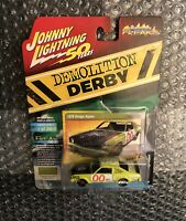 New Johnny Lightning 50 Years 1:64 Scale Demolition Derby 1976 Dodge Aspen