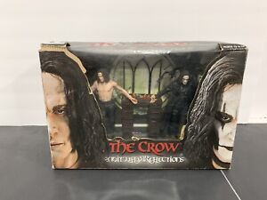 "Eric Draven The Crow REFLECTIONS - 7"" Figure Box Set Cult Classics 2004 NECA"