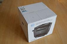 Brand New Dell E525W Wireless Color Laser All-in-One Printer $329 NIB w/Toners