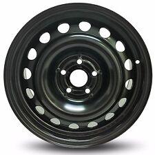 New 16x6.5 5 Lug (13-16) Chevrolet Trax (11-16) Cruze Black Steel Wheel Rim