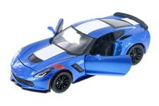 Maisto 1:24 Scale 2017 Corvette GT C7 Grand Sport Diecast Model Car Toy BLUE