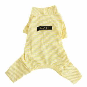 Hot Sale Stripe Dog Pajamas Pet Dog Clothes Dog  Jumpsuit Puppy Sleepwear Coats