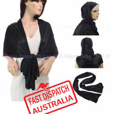 Polyester Patternless Shawls/Wraps Scarves and Wraps for Women