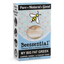 Beessential All Natural Greek Yogurt and Honey Small Batch Bar Soap 5oz bar