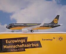 Herpa Wings 1:200 Airbus A320 Eurowings Bvb Mannschaftsairbus D-Aizr 558167