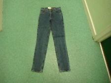 """VINTAGE Levi's 531 Silver Tab Tight Fit W32"""" L28"""" Dark Blue Jeans Donna"""