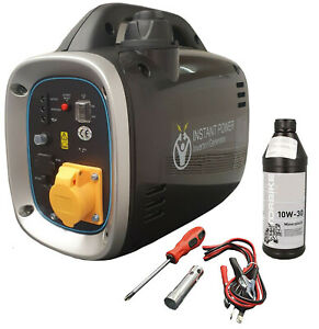 110V Portable Suitcase Inverter Petrol Generator 4 Stroke 2.6HP 800W 12V