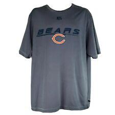 NFL Team Apparel 2XL Chicago Bears Football T-Shirt NWOT
