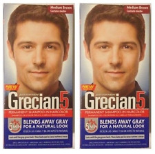 Just For Men Grecian 5, Hair Shampoo In Hair Color, Medium Brown (2 Pack)