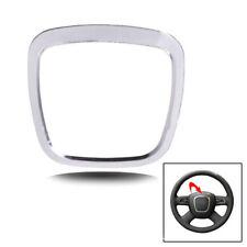 Aluminium Alloy Steering Wheel Cover Sticker Body Trim For Audi A3/A4L/A6L/Q3