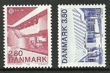 Architecture Single Danish & Faroese Stamps