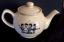 THE BEATLES cartoon SMALL CREAM TEAPOT 2 cup/1 mug size THE FAB FOUR new unused