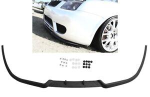 VW Bora Jetta MK4 4 Front Bumper Cup Chin Spoiler Lip Splitter Valance + Screws