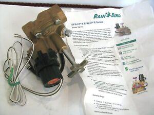 "Rainbird 100-EFB-CP 1""  Brass Electric Sprinkler Valve 100EFBCP EFB-CP-R Series"