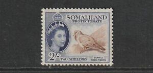QEII SOMALILAND 53 2/- vlmm  cat £28