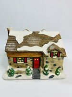 Enesco Miracle On 34Th Street Susan Dream House Cobblestone Christmas Village