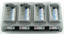 Zebra UCLI72 4-SLOT Quad Battery Charger AT16305-8 for QL / RW printer + charger