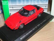 MAZDA RX7 GT SAVANA 1979 EBBRO  1/43  RED